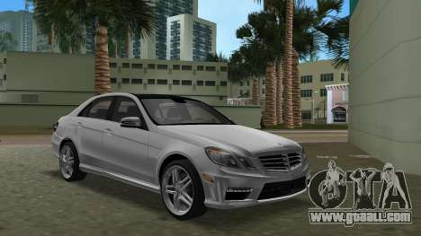 Mercedes-Benz E63 AMG TT Black Revel for GTA Vice City inner view