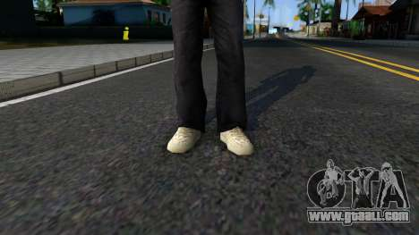 Adidas Yeezy Boost 350 Moonrock for GTA San Andreas second screenshot