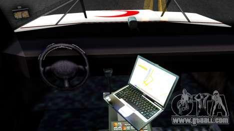 Ambulance Malaysia for GTA San Andreas inner view