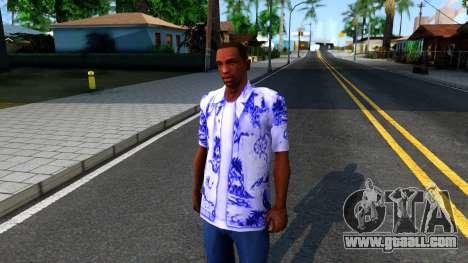 New Hawaii Shirt for GTA San Andreas