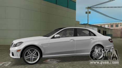 Mercedes-Benz E63 AMG TT Black Revel for GTA Vice City left view