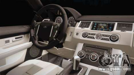 Land Rover Range Rover 2015 Sport for GTA San Andreas