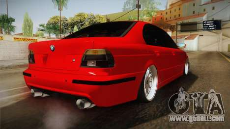 BMW M5 E39 for GTA San Andreas left view
