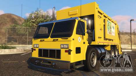 Portugal, Madeira Garbage Truck CMF Skin for GTA 5