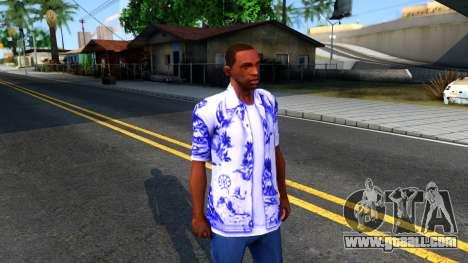 New Hawaii Shirt for GTA San Andreas second screenshot