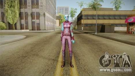 Marvel Future Fight - Nebula for GTA San Andreas second screenshot