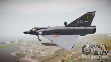 EMB Dassault Mirage III FAB for GTA San Andreas left view