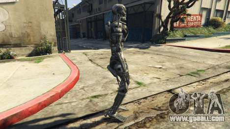 GTA 5 Terminator T-800 second screenshot