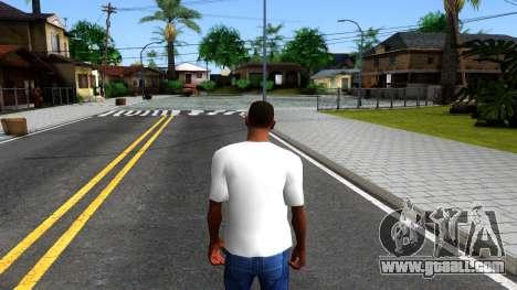 Nike Air Jordan S.O.M. Do You Know T-Shirt White for GTA San Andreas