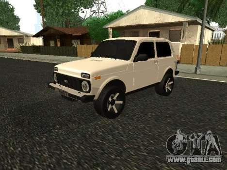 Niva 2121 Armenian for GTA San Andreas