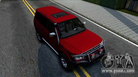 Mitsubishi Pajero IV for GTA San Andreas