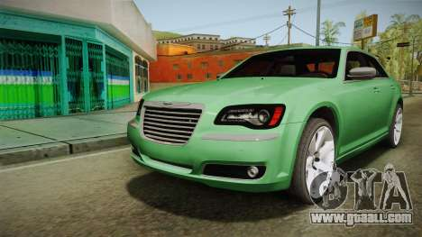 Chrysler 300C 2012 for GTA San Andreas back left view