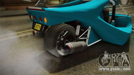 GTA 5 BF Raptor IVF for GTA San Andreas upper view