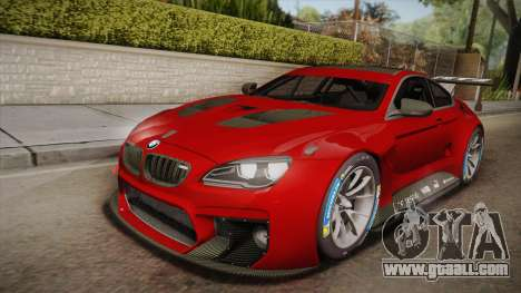 BMW M6 GT3 for GTA San Andreas