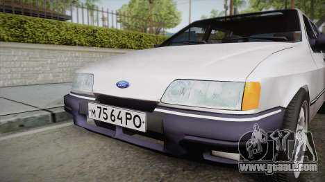 Ford Sierra Tournier 2.3D CL 1988 for GTA San Andreas