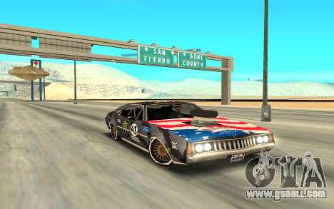 Ken Block Clover 2 for GTA San Andreas