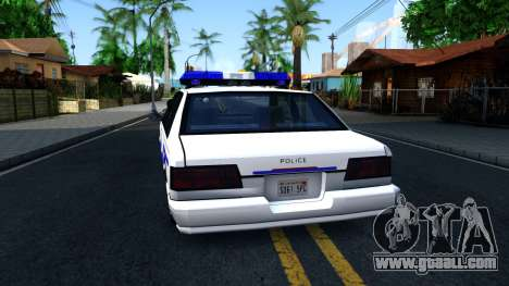 Declasse Premier Hometown Police Department 2000 for GTA San Andreas
