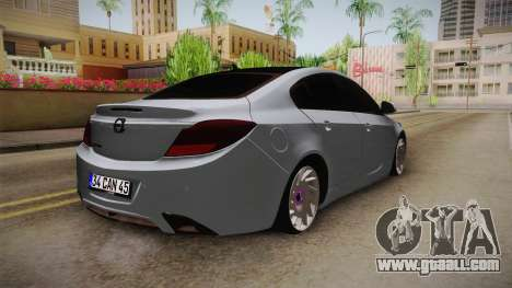 Opel Insignia for GTA San Andreas right view