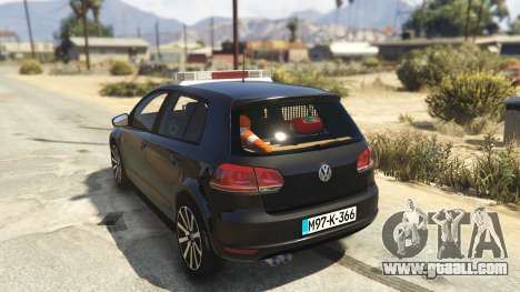 GTA 5 SIPA Policija rear left side view