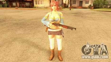 Dead Or Alive 5 LR - Honoka Fairy Tail for GTA San Andreas