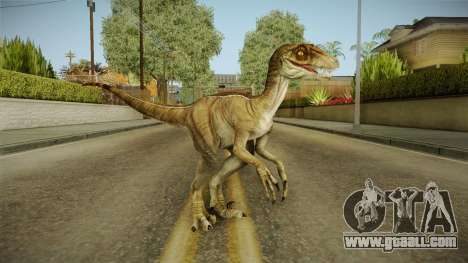 Primal Carnage Velociraptor Classic for GTA San Andreas second screenshot
