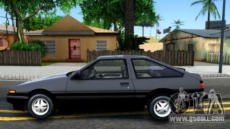 Toyota Sprinter Trueno for GTA San Andreas left view