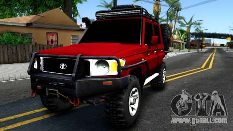 Toyota Land Cruiser 70 Off-Road V2.0 for GTA San Andreas