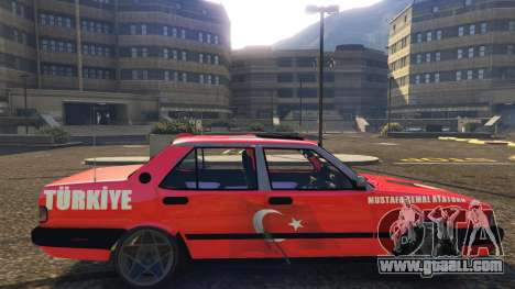 GTA 5 Tofaş Ataturk left side view