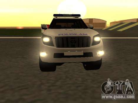 Toyota Land Cruiser Polise Armenian for GTA San Andreas