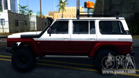 Nissan Patrol Y60 for GTA San Andreas left view