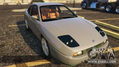 GTA 5 Fiat Coupe back view