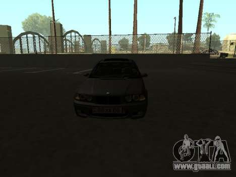 BMW 320i Armenian for GTA San Andreas right view