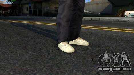 Adidas Yeezy Boost 350 Moonrock for GTA San Andreas third screenshot