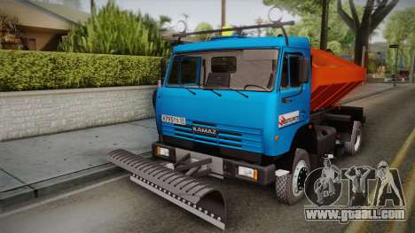 KamAZ 43253 KO-806 for GTA San Andreas