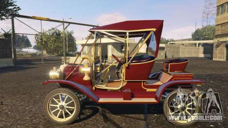 GTA 5 Ford T 12 model 1 left side view