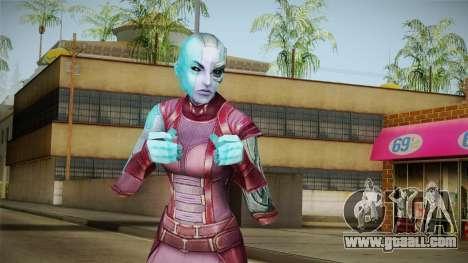 Marvel Future Fight - Nebula for GTA San Andreas