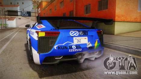 Lexus LFA Rem The Blue of ReZero for GTA San Andreas
