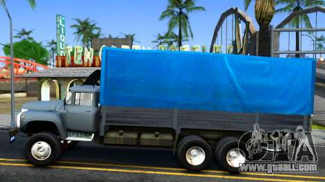 ZIL 133GÂ v2.0 for GTA San Andreas left view