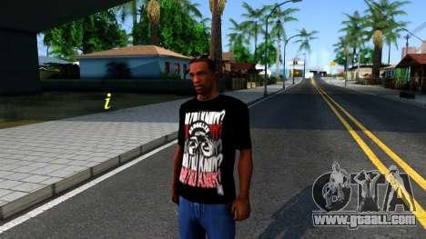 Nike Air Jordan S.O.M. Do You Know T-Shirt Black for GTA San Andreas