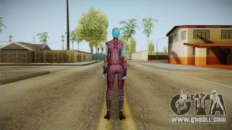 Marvel Future Fight - Nebula for GTA San Andreas third screenshot