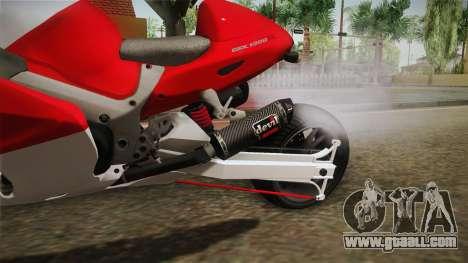 GTA 5 Hyabusa Drag v1 for GTA San Andreas inner view