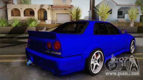 Nissan Skyline ER34 Rocket Bunny for GTA San Andreas left view