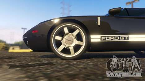 GTA 5 Ford GT 2005 rear right side view