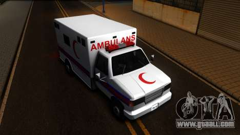 Ambulance Malaysia for GTA San Andreas right view