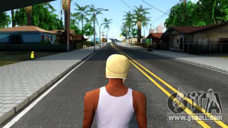 Winter Bomber Hat From The Sims 3 for GTA San Andreas third screenshot