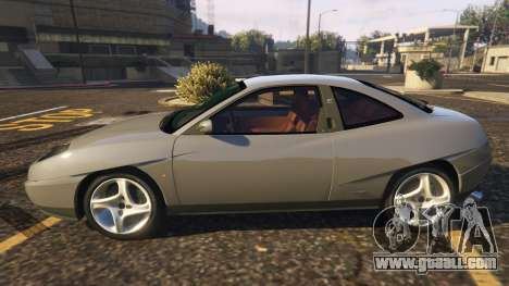 GTA 5 Fiat Coupe left side view