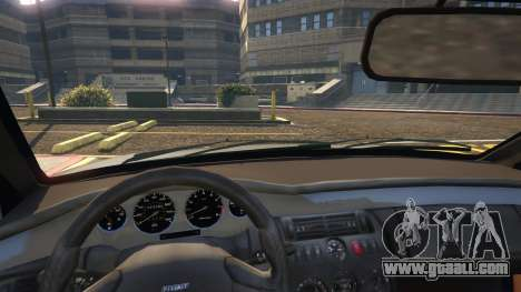 GTA 5 Fiat Coupe right side view