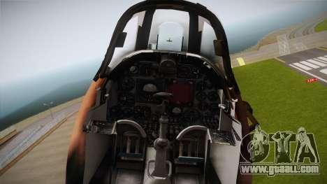 EMB McDonnell Douglas A-4M Skyhawk for GTA San Andreas back view