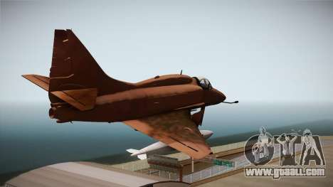 EMB McDonnell Douglas A-4M Skyhawk for GTA San Andreas right view