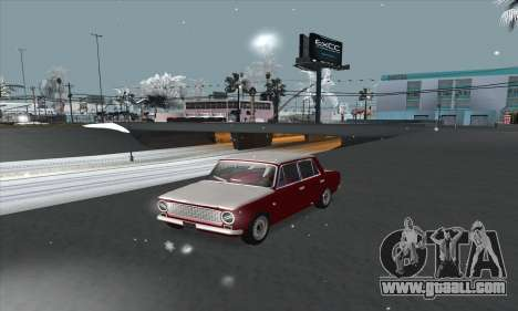 VAZ 2101 snow version for GTA San Andreas